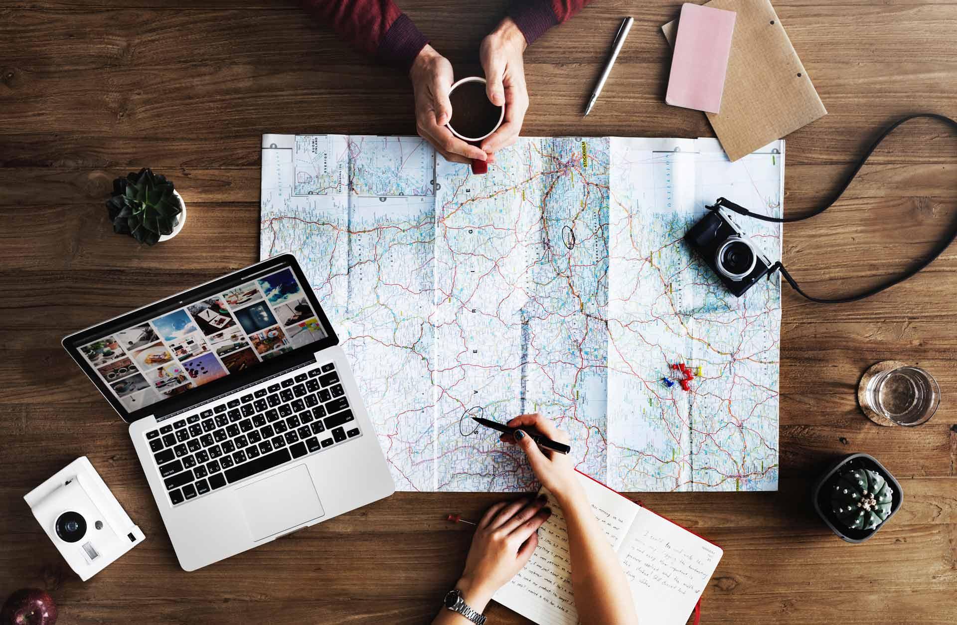 Start a traveler blog